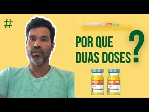 Por que duas doses de vacina contra a Covid-19?