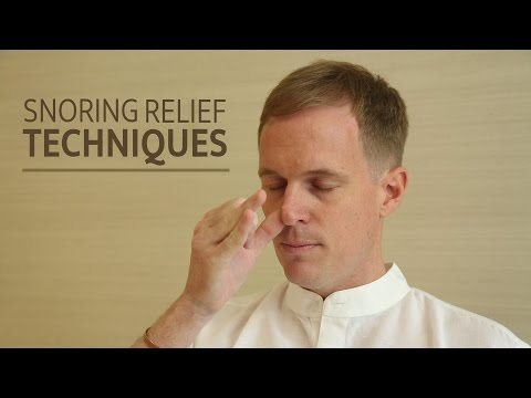 Thumbnail: Snoring Relief Techniques | SRMD Yoga