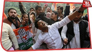 Watch live results from the five polling states of Rajasthan, Madhy...