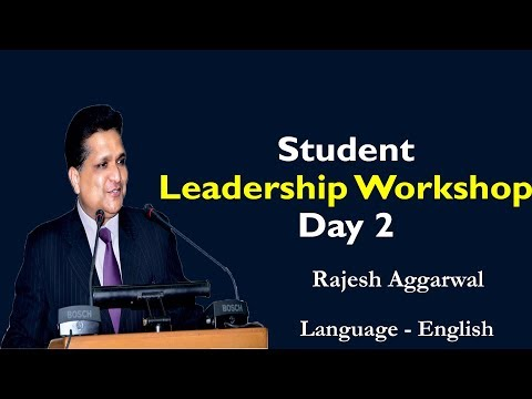 Student Leadership Workshop (Day1) By Rajesh Aggarwal | Motivational Speaker & Life Coach
