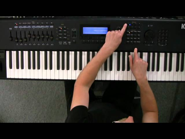1 Kurzweil PC3 Series: Front Panel Overview