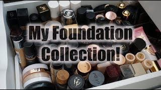 My Foundation Collection - My Foundation Drawer!