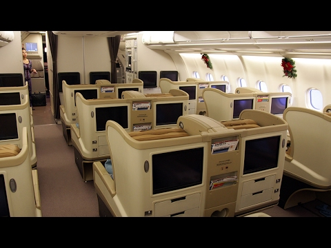 SINGAPORE AIRLINES Business Class A330 | DPS-SIN