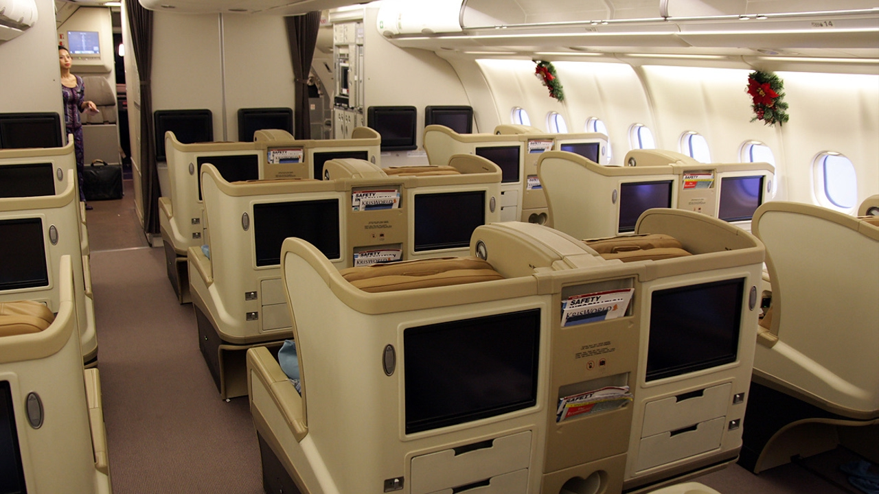 Image result for singapore airlines a330 business class
