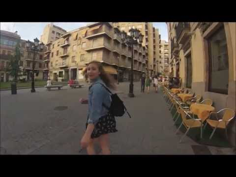 Ariela Explores Salamanca, Spain