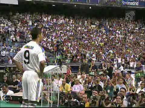 Cristiano Ronaldo Presentation at Santiago Bernabeu