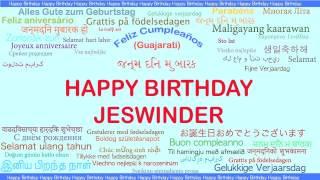 Jeswinder   Languages Idiomas - Happy Birthday