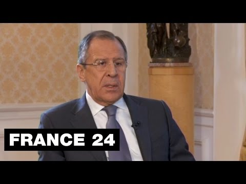 Exclusive: 'We will survive sanctions,' says Russian foreign minister Sergei Lavrov to FRANCE24