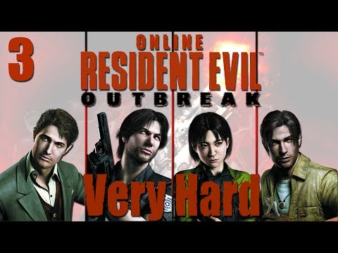 Resident Evil Outbreak Online Co-op - Stage 2 Below Freezing Point  (VERY HARD) Ep. 3
