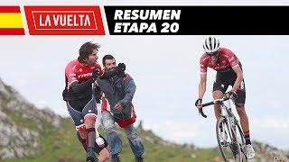 Resumen - Etapa 20 - La Vuelta 2017