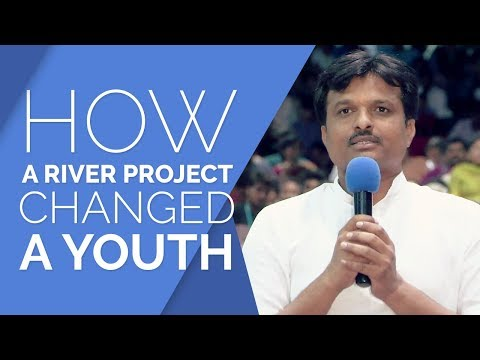 River Project Changes Alcohol Addict To A Youth Leader | The Art of Living