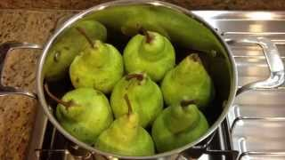 Recipe - Pears In Red Wine Sauce