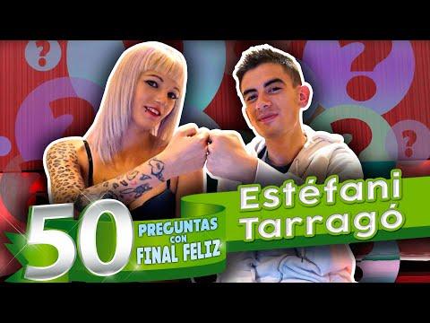 La RUBIAZA Estefani Tarragó: 50 preguntas con f***l feliz.