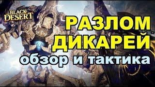 Black Desert (MMORPG - ИГРЫ) - ⚡ Рифт дикарей в BDO (тактика прохождения и обзор данжа)