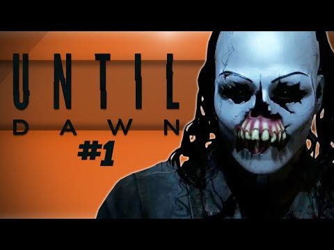 Until Dawn! - HOLD ON OR WE'RE DEAD! - #1 (The Horror Begins)