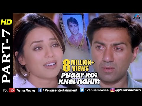 Pyaar Koi Khel Nahin - Part 7   Sunny Deol & Mahima Chaudhary   Best Bollywood Movie Scenes