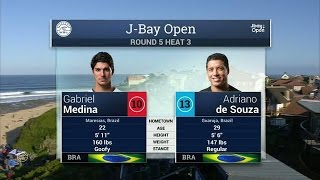 2016 J-Bay Open: Round Five, Heat 3 Video