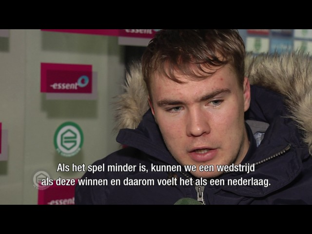 Essent Man of the Match Simon Tibbling