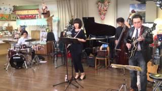 ミチエキコンサート スパノバジャズクインテット 2015/12/13 道の駅なよろ.