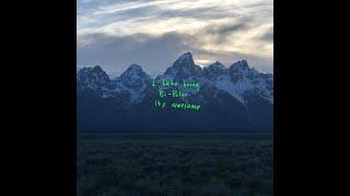 Kanye West - Violent Crimes (SILVER)
