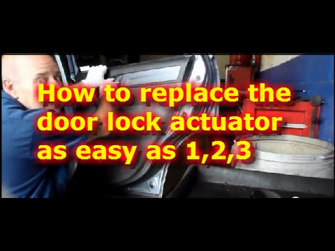 How To Replace The Lock Door Actuator On A Honda Crv Youtube