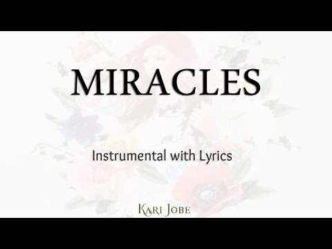 MIRACLES (Kari Jobe) - Acoustic Instrumental [Piano Karaoke with Lyrics]
