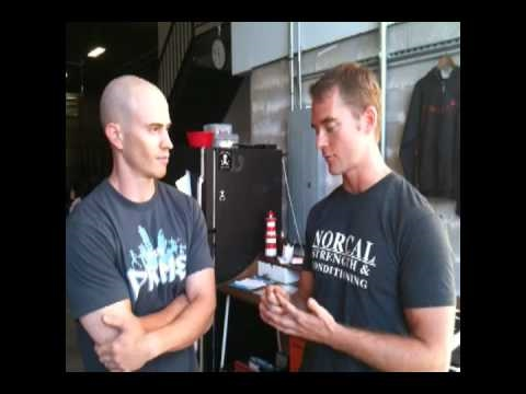 Robb Wolf Interview at the Paleolithic Solution Seminar in Brooklyn New York