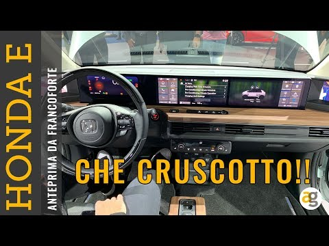 CHE CRUSCOTTO! Honda E Anteprima prezzi autonomia