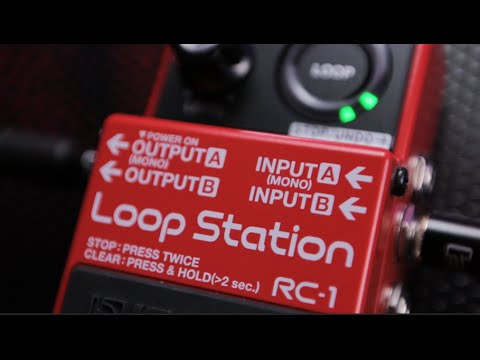Boss RC-1 Loop Station Overview