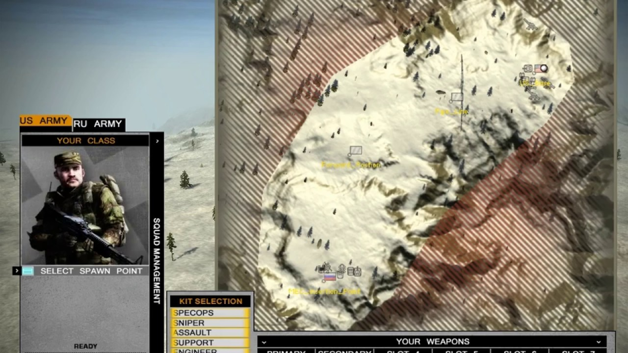 Battlefield 2 : Bad Company 2 - New HUD Test *Link Download*