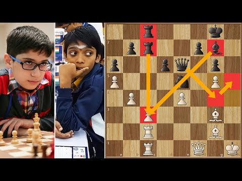 Battle of Prodigies | Praggnanandhaa vs Firouzja | Youth Chess Olympiad 2017