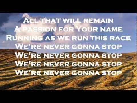 RUNNING - CORNERSTONE - HILLSONG LIVE 2012 - NEW 2012 - (WITH LYRICS) {HD}