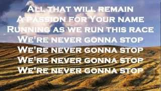 RUNNING - CORNERSTONE - HILLSONG LIVE 2012 - NEW 2012 - (WITH LYRICS) {HD}