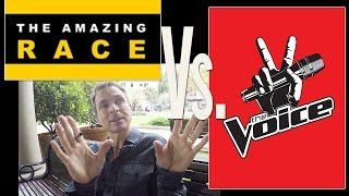 """Amazing Race"" vs. ""The Voice"": Phil Keoghan Sizes Up the Competition"