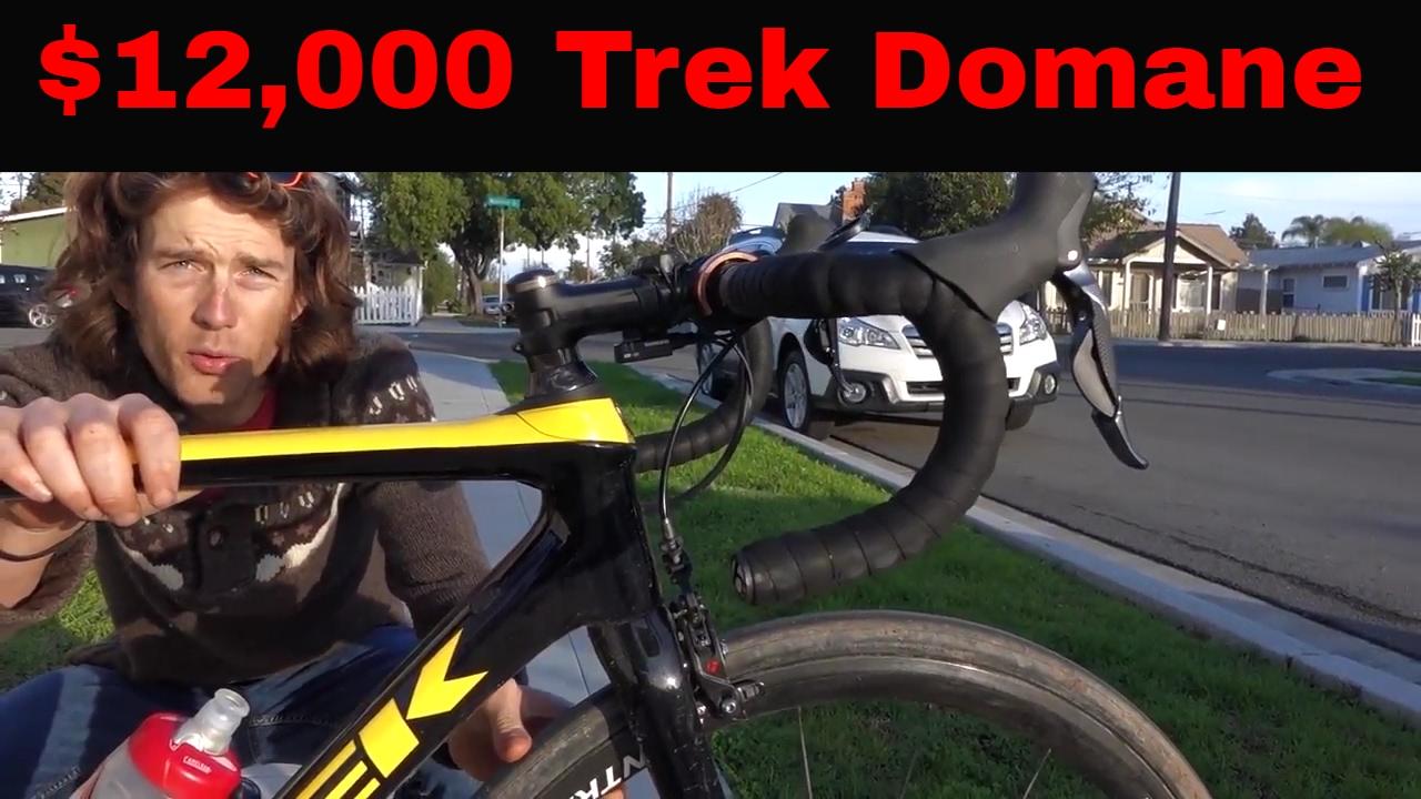 The $12,000 Trek Domane SLR and the Isospeed Decoupler Review