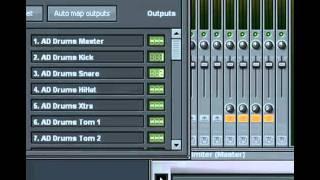 Routing Addictive Drum on FL Studio