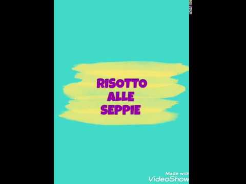 Risotto alle seppie