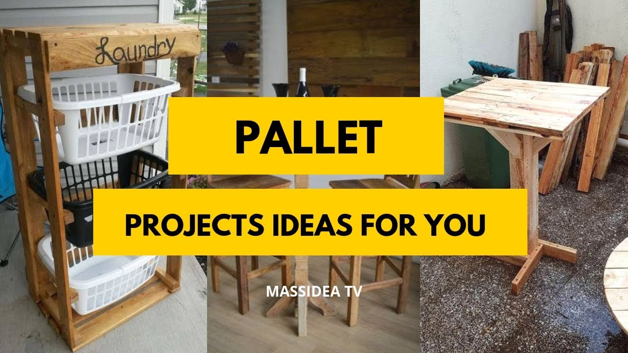 50 Awesome Pallet Projects Ideas You Can Make It Youtube