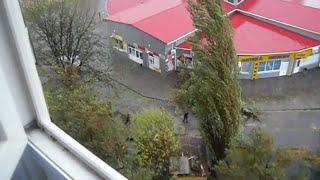 Бердянск 24.09.2014 шторм стихия ГОРА Пионерская