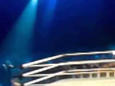 The Bella Twins Kiss Tony Chimel