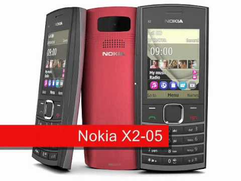 Nokia C2-05 and X2-05