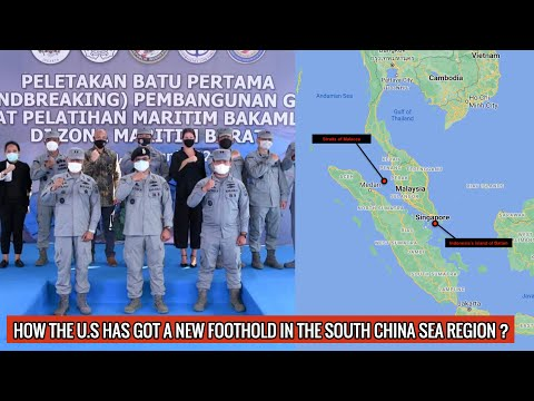 Indonesia & U.S. building maritime center in #SouthChinaSea!