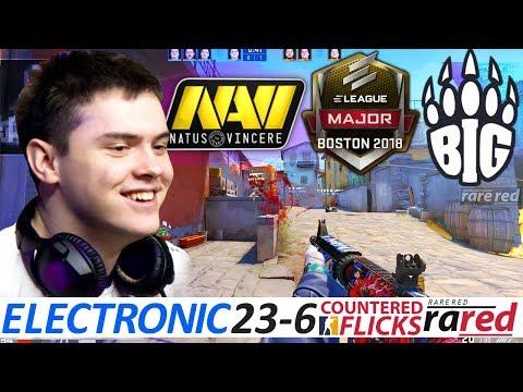 electronic 23-6 / NAVI vs BIG / ELEAGUE Boston Major 2018 /