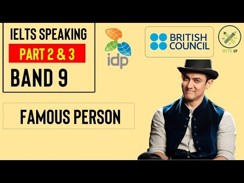 A Famous Person that you are Interested in || Cue Card || IELTS Speaking Part 2