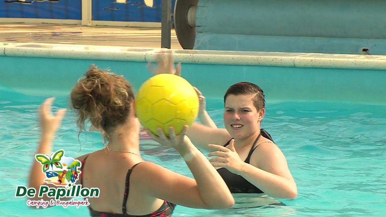 Overdekt Zwembad Op Camping De Papillon In Twente Youtube