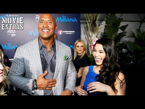 Moana |  World Premiere with cast interview
