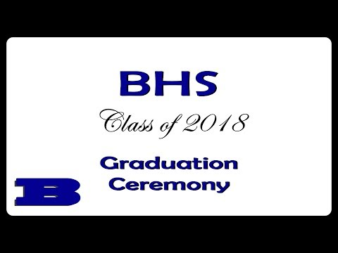 2018 Brevard High School Graduation