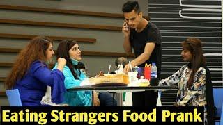 Eating Strangers Food Prank | Pranks In Pakistan