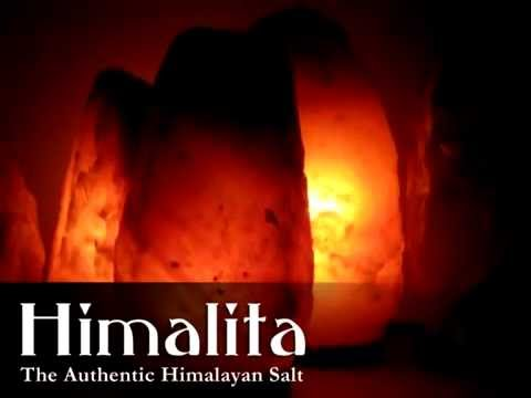 Natural Himalayan Salt Lamps – Ionic light / Air purifier reduces the symptoms of asthma & allergies