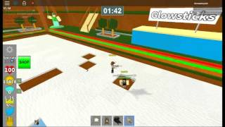 Roblox Ripull Minigames Round 1 - Themanboy123 Vs. Yaasinisawesome123 - Spleef